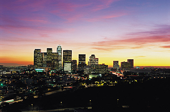 US CA Los Angeles Night